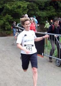 Halbmarathon-Siegerin Anke Härtl