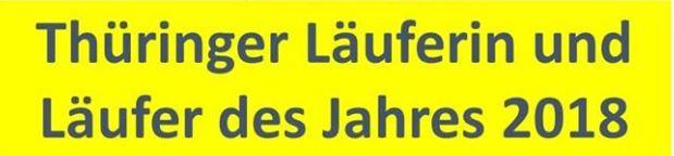 Thüringer Läufer des Jahres 2018: Die Kandidaten