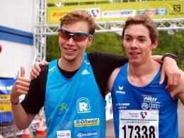 Marcel Bräutigam (li.) und Thomas Kühlmann