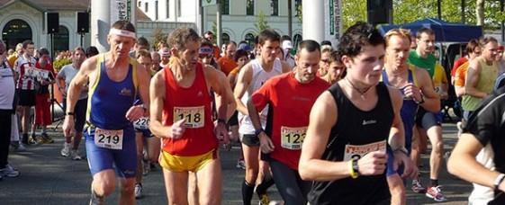 Start zum Nordhäuser Citylauf 2009