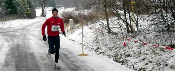 Ingo Furchner gewann den Hauptlauf über 8,2 Kilometer