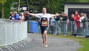 Markus Koch konnte als Fünfter trotzdem jubeln