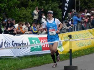Karsten Kühne (Team RuN Sport) lief auf Platz 2