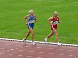 Raimund Krauße (352) lief mit 20:41,21 Minuten einen Landesrekord in der M70
