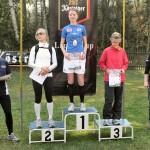 Siegerehrung - Frauen über die 18,5 km