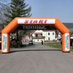 Start zum Ilmenauer Osterlauf - Rund um die Talsperre Heyda