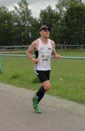Phillip Willaschek beim Zieleinlauf