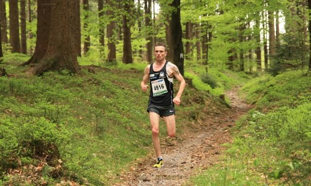 Christian Seiler hatte bei Kilometer 27 bereits fast 10 Minuten Vorsprung
