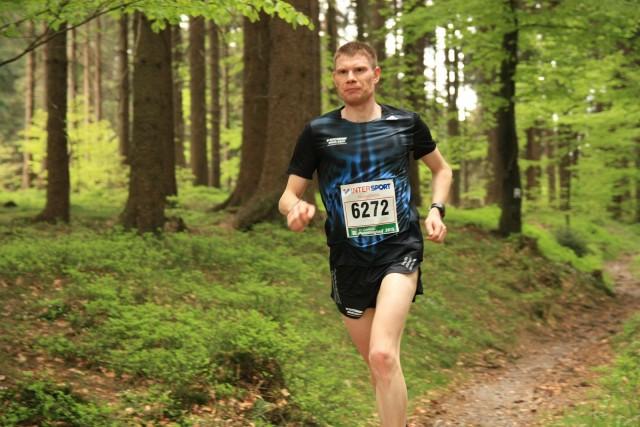 Christoph Weigel beim Rennsteig-Marathon 2015