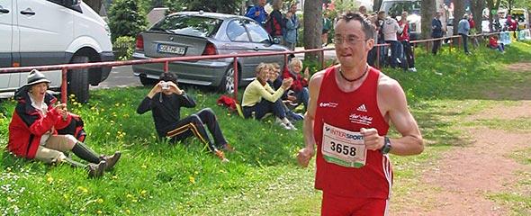 Markus Koch jagt nach zwei Marathons wieder nach dem Halbmarathonsieg