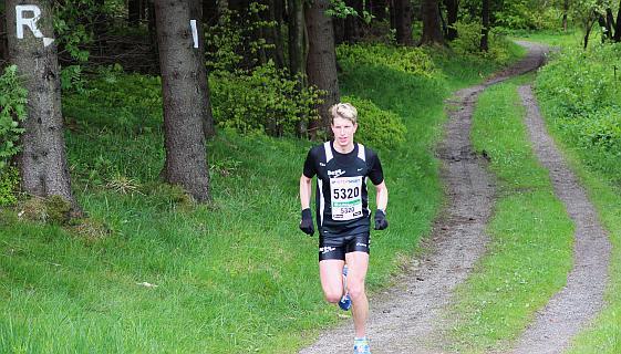 Dirk Schwarzbach lief ein starkes Rennsteig-Debüt