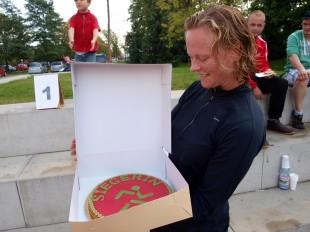 Siegertorte für Johanna Schreier