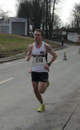 Christian Seiler beim Zieleinlauf