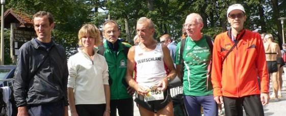 Thüringer Delegation bei den 9. Senioren-Weltmeisterschaften im Berglauf