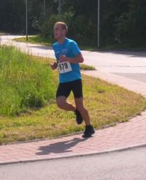 Der Sieger des Halbmarathons: Stefan Senz