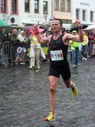 Torsten Schneider siegte im Marathonlauf in 2:40 Stunden