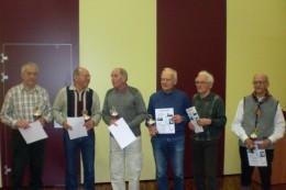 Sieger der Kreisrangliste in den Altersklassen 70 und 75