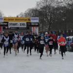 Start der 9,3km Strecke