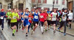 Viel Läufernachwuchs am Start der 5-Kilometer-Strecke