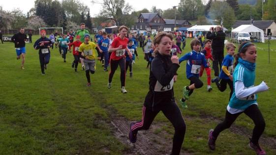 Die 5-Kilometer-Strecke wurde vor allem von Kindern und Jugendlichen genutzt
