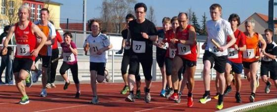 Start zum Halbstunden-Paarlauf