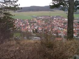 Blick vom Krayenberg auf Vachdorf