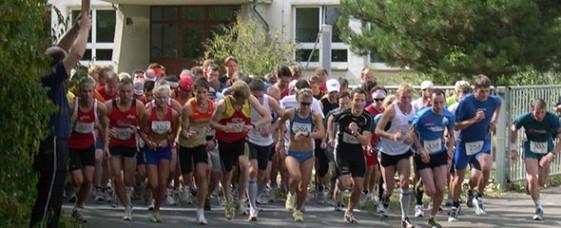 Start zum Erfurter Zooparklauf 2009 über 10 Kilometer